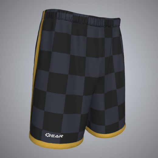 Custom Checker Soccer Short