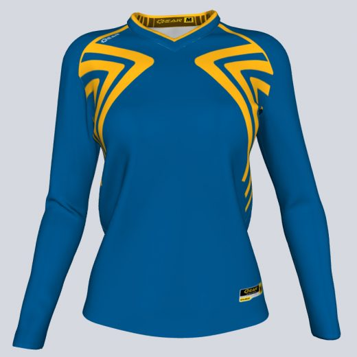 Ladies Athena Long Sleeve Front