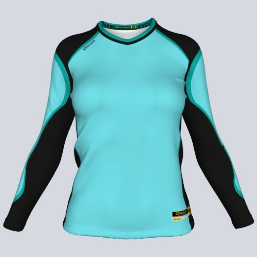 Ladies Majestic Fitted Long Sleeve Front