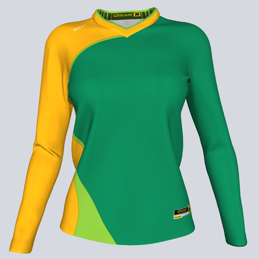 Ladies Asia Long Sleeve Front