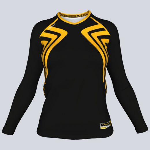 Ladies Athena Fitted Long Sleeve Front