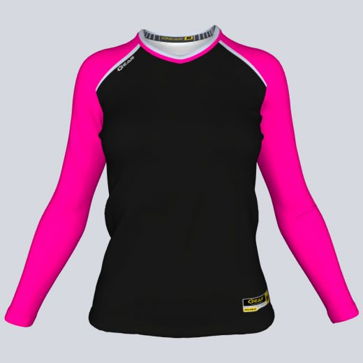 Ladies Core Fitted Long Sleeve Front